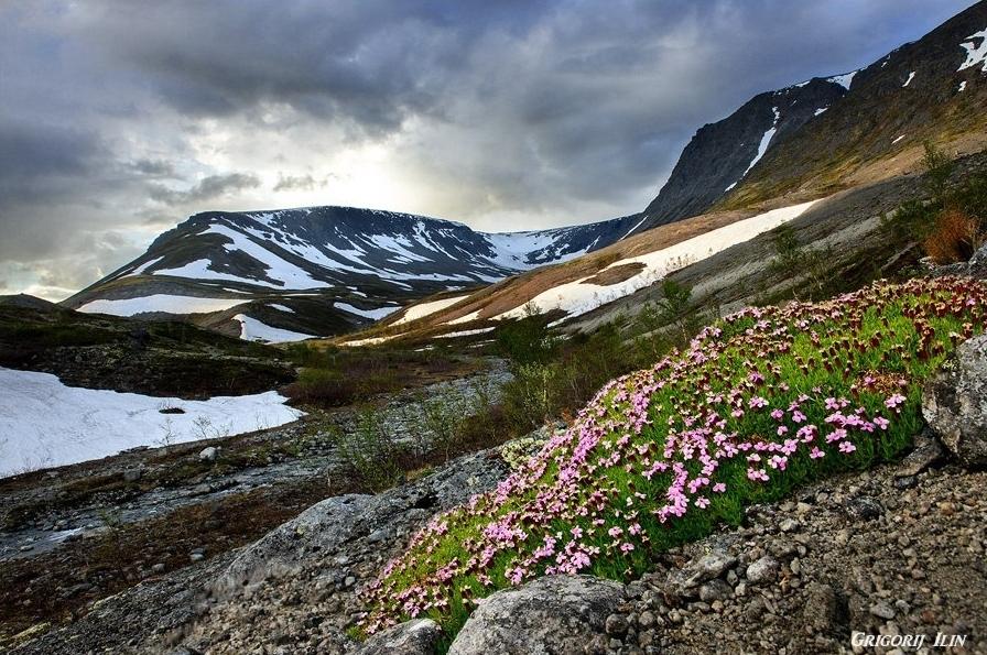 Murmanská oblast hory Grigorij Ilin
