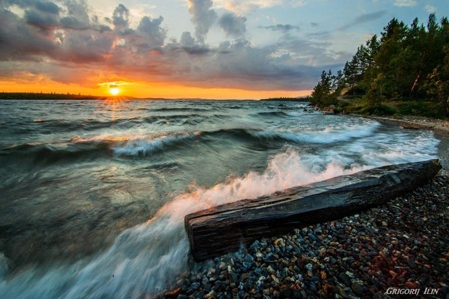 Murmanská oblast pobřeží Grigorij Ilin