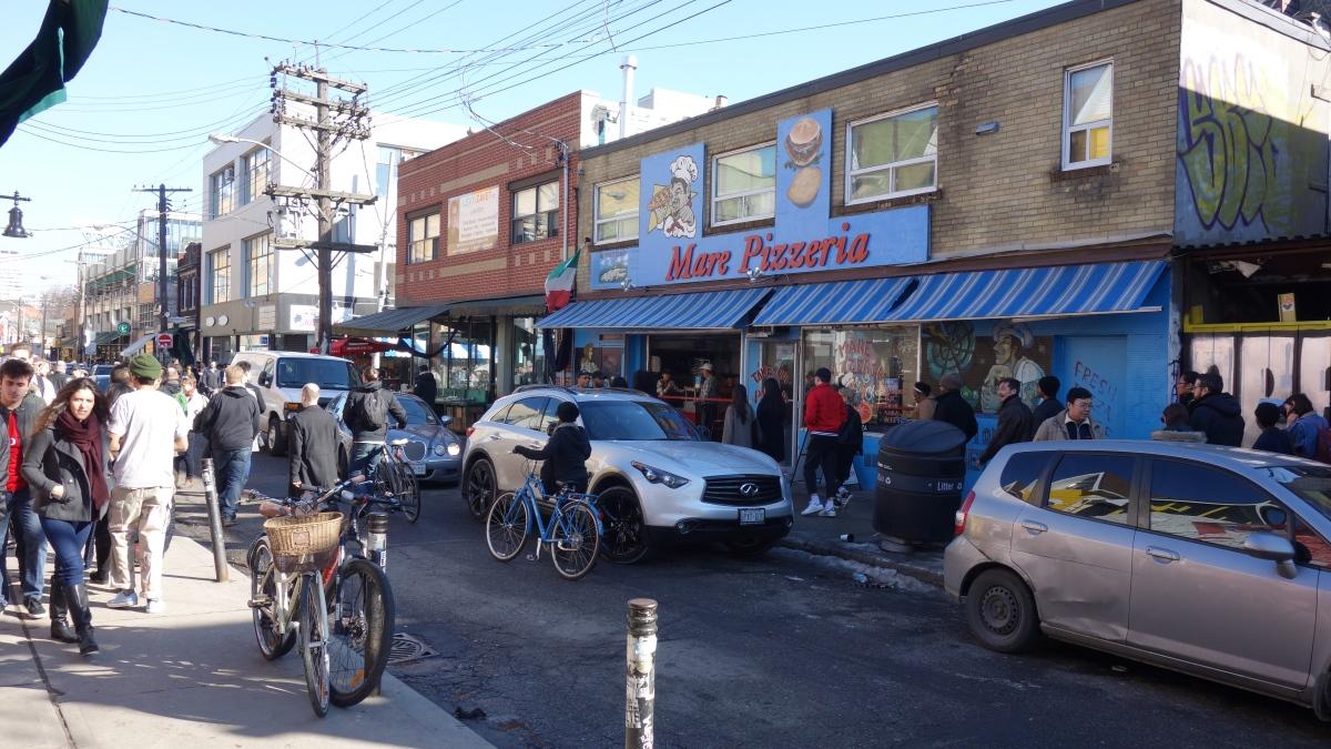cyklistika v Torontu