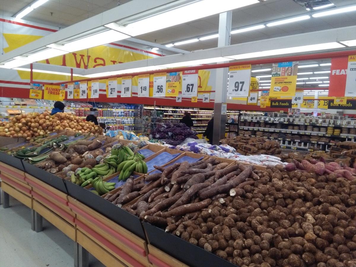 potraviny z různých koutů světa